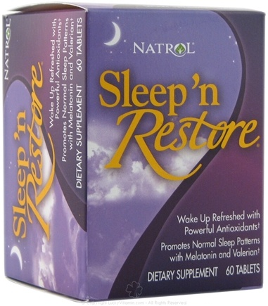DROPPED: Natrol - Sleep 'n Restore - 60 Tablets