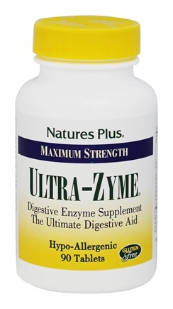Nature's Plus - Ultra-Zyme - 90 Tablets