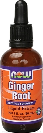 DROPPED: NOW Foods - Ginger Root Liquid Extract - 2 oz.