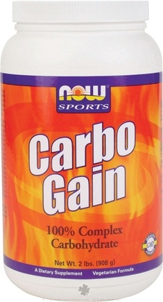 DROPPED: NOW Foods - Carbo Gain - 10 lbs. CLEARANCE PRICED