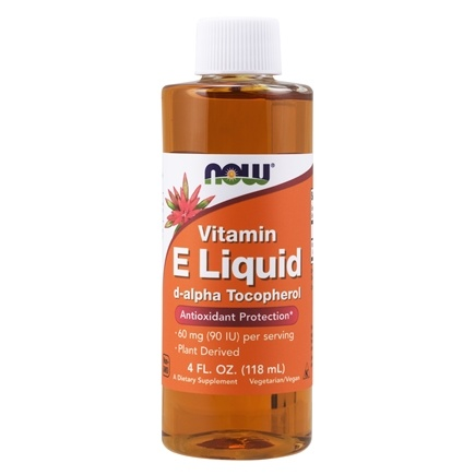NOW Foods - Natural Vitamin E Liquid Antioxidant Protection 54600 IU - 4 oz.