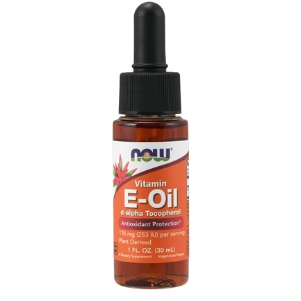 NOW Foods - Natural E Oil Antioxidant Protection 23000 IU - 1 oz.
