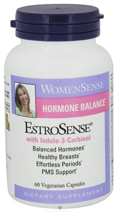 Zoom View - EstroSense WomenSense Hormonal Balance with Indole-3 Carbinol