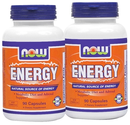 DROPPED: NOW Foods - Energy (90+90) Twin Pack Special - 180 Capsules
