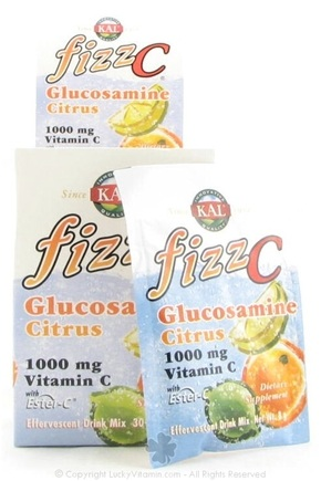 DROPPED: Kal - Fizz C Glucosamine Effervescent Drink Mix Citrus - 30 Packet(s)