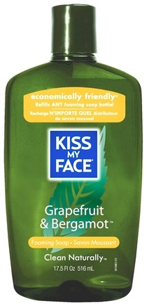 DROPPED: Kiss My Face - Liquid Soap Self Foaming Refill Grapefruit & Bergamot - 17.5 oz. CLEARANCE PRICED