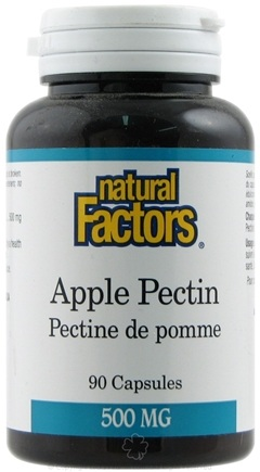 DROPPED: Natural Factors - Apple Pectin 500 mg. - 90 Capsules