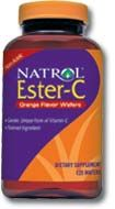 DROPPED: Natrol - Ester C Chewable 250 mg. - 125 Chewable Tablets