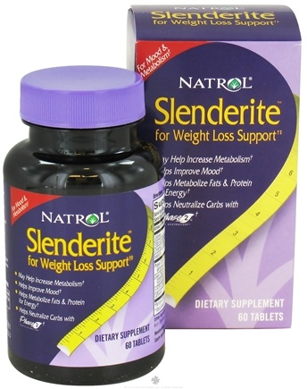 DROPPED: Natrol - Slenderite for Weight Loss Support - 60 Tablets CLEARANCE PRICED