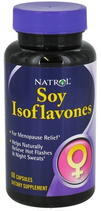 DROPPED: Natrol - Soy Isoflavones - 60 Capsules CLEARANCE PRICED