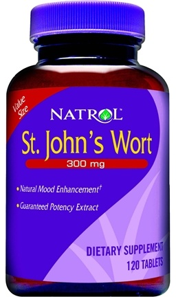 DROPPED: Natrol - St. John's Wort - 120 Tablets