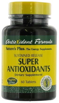DROPPED: Nature's Plus - Super Antioxidant Complex Sustained Release - 60 Tablets