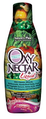DROPPED: Nature's Plus - Liquilicious Oxy Nectar Liquid - Tropical Berry Tropical berry - 8 oz.