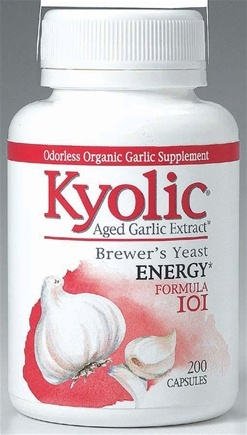 DROPPED: Kyolic - Formula 101 Garlic Extract With Yeast - 100 Tablets