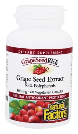 Zoom View - GrapeSeedRich Grape Seed Extract 95% Polyphenols