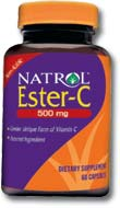 DROPPED: Natrol - Ester C with Bioflavonoids 500 mg. - 120 Capsules