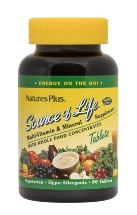 Nature's Plus - Source Of Life - 90 Tablets