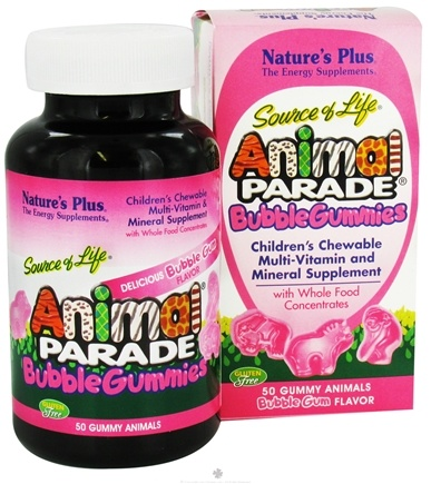 Zoom View - Source of Life Animal Parade Gummies