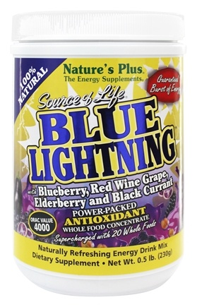 DROPPED: Nature's Plus - Source of Life Blue Lightning - 0.5 lbs.