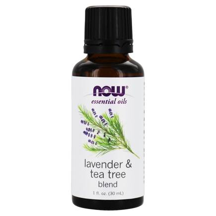 NOW Foods - Lavender-Tea Tree Oil - 1 oz.