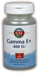 DROPPED: Kal - Gamma E+ 400 IU - 60 Softgels