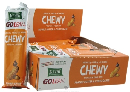 DROPPED: Kashi - GOLEAN Protein & Fiber Bar Peanut Butter & Chocolate - 2.75 oz.