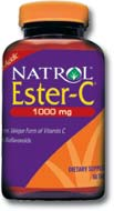 DROPPED: Natrol - Ester C with Bioflavonoids 1000 mg. - 120 Tablets