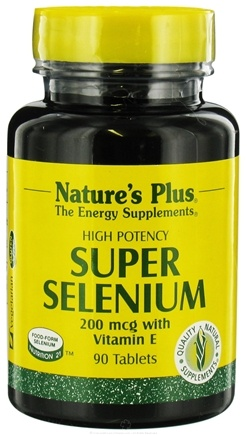 DROPPED: Nature's Plus - Super Selenium Complex - 90 Tablets CLEARANCE PRICED