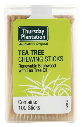 Zoom View - The Original Australian Tea Tree Chewing Sticks