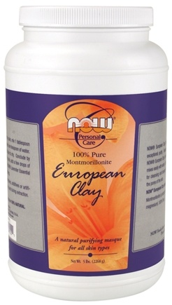 DROPPED: NOW Foods - European Clay Powder - 5 lbs. (formerly Green Clay Powder)