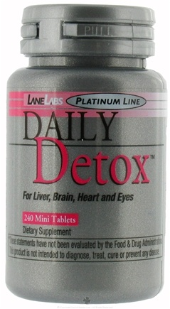 DROPPED: Lane Labs - Daily Detox - 240 Tablets