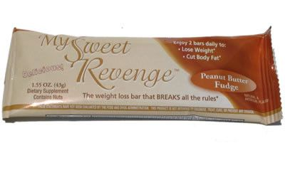 DROPPED: Lane Labs - My Sweet Revenge Weight Loss Bar Peanut Butter Fudge