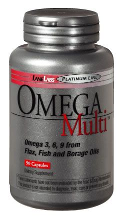 DROPPED: Lane Labs - Omega Multi - 90 Softgels