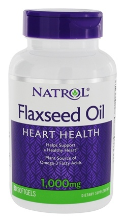 Zoom View - Omega-3 Flax Seed Oil