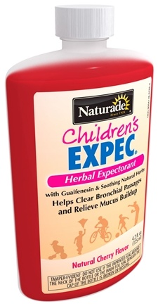 DROPPED: Naturade - Expec Child's Cough Syrup Expectorant Natural Cherry Flavor - 4.2 oz. CLEARANCE PRICED