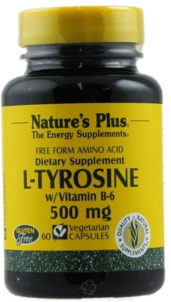 Zoom View - L-Tyrosine Free Form Amino Acid with Vitamin B-6