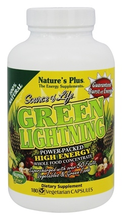 Zoom View - Source of Life Green Lightning High Energy Whole Food Concentrate