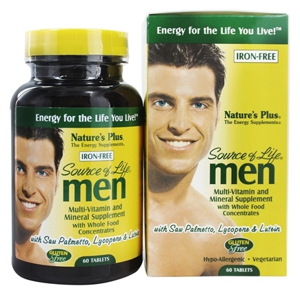 Nature's Plus - Source Of Life Men's Multi-Vitamin - 60 Tablets