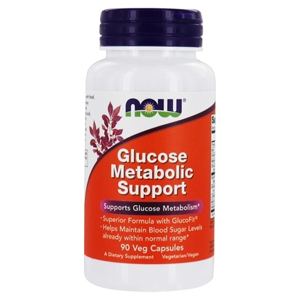 NOW Foods - Glucose Metabolism Support - 90 Capsules