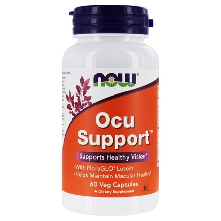NOW Foods - Ocu Support - 60 Capsules (formerly Eye Support)