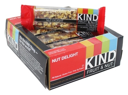 DROPPED: Kind Bar - Fruit & Nut Bar Nut Delight - 1.4 oz.