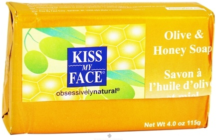 DROPPED: Kiss My Face - Bar Soap Olive & Honey - 4 oz.