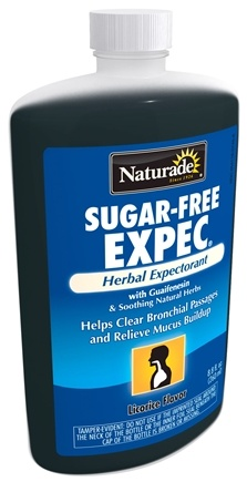 DROPPED: Naturade - Expec Herbal Expectorant Sugar Free with Guaifenesin Licorice Flavor - 8.8 oz.