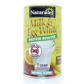 DROPPED: Naturade - Milk & Egg White Protein Booster Natural Flavor - 16 oz.