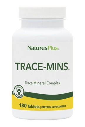 Nature's Plus - Trace-Mins Multi Trace Minerals - 180 Tablets