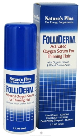 DROPPED: Nature's Plus - Folliderm Topical Hair Serum - 2 oz.