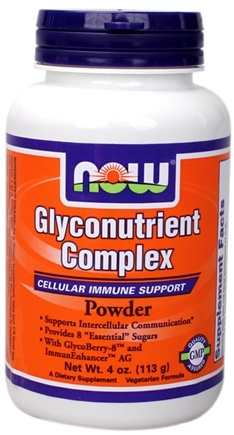 DROPPED: NOW Foods - Glyconutrient Complex Powder CLEARANCE PRICED - 4 oz.