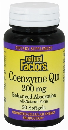 Zoom View - Co-Enzyme Q-10 Enhanced Absorption
