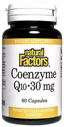 DROPPED: Natural Factors - Co-Enzyme Q-10 30 mg. - 30 Capsules