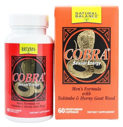 Natural Balance - Cobra Formula For Men - 60 Capsules